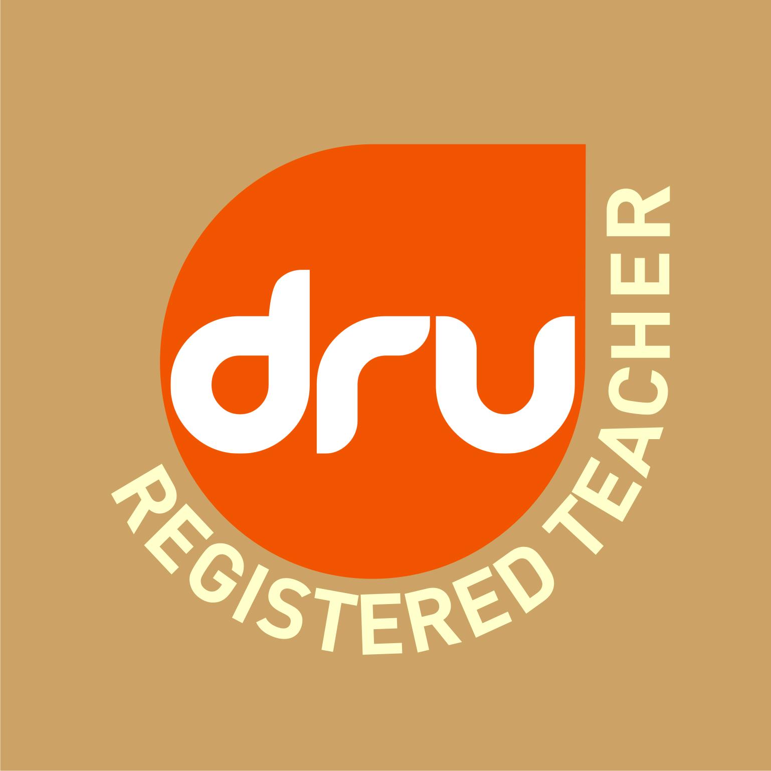 Vignet geregistreerd Dru Yoga docent